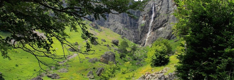 Waterfall Raiskoto Praskalo, Karlovo, Bulgaria