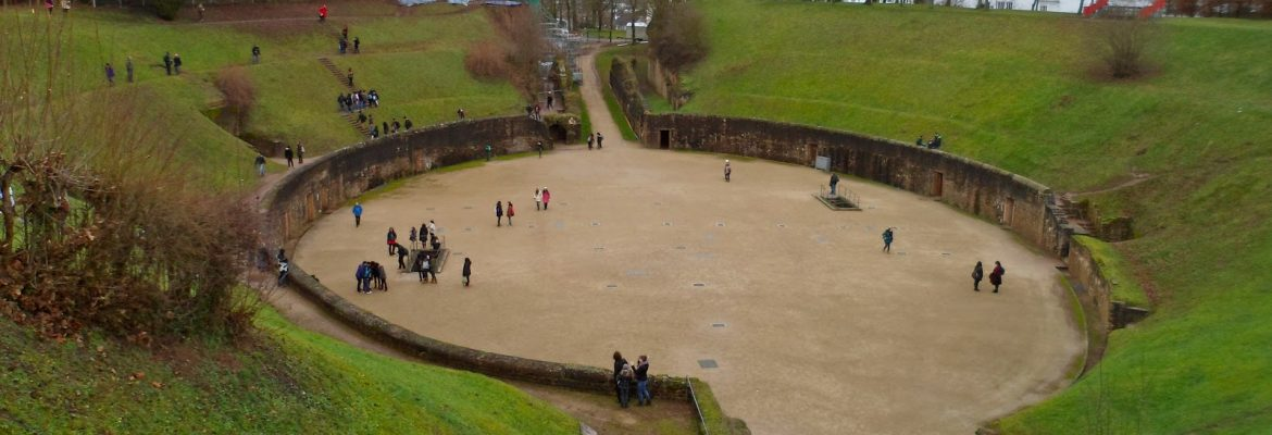 Amphitheater, Unesco Site, Trier, Germany