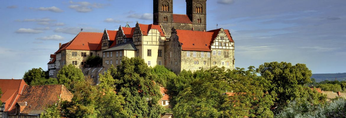 Collegiate Church and Old Town Quedlinburg Unesco Site, Quedlinburg, Germany