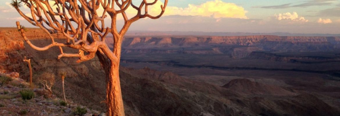 Fish River canyon View Point, South Africa