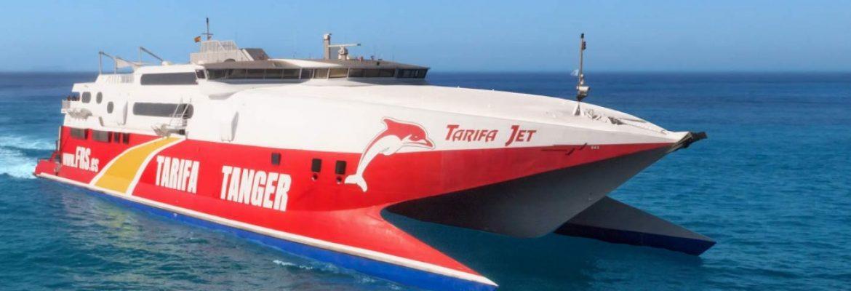 Ferry Tarifa Spain to Tangier Morocco