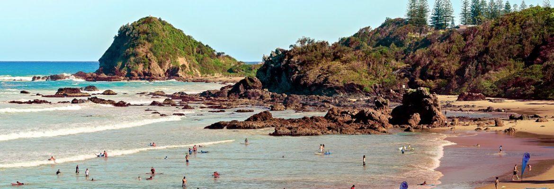 Flynns Beach, NSW, Australia