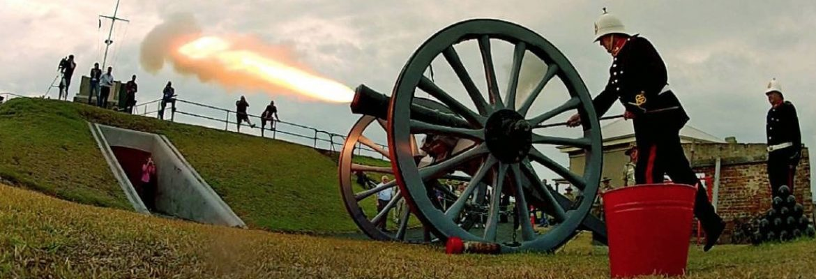 Fort Scratchley Historic Site, NSW, Australia