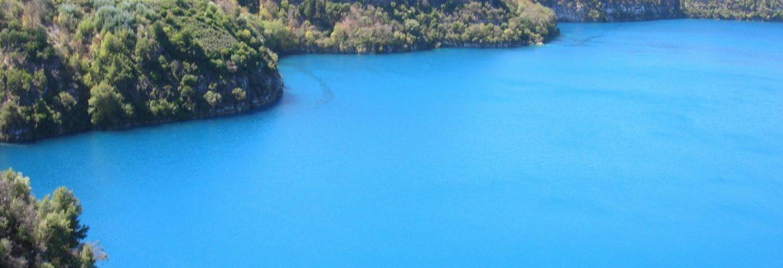 The Blue Lake, NSW, Australia