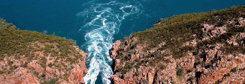 Horizontal Waterfalls, WA, Australia