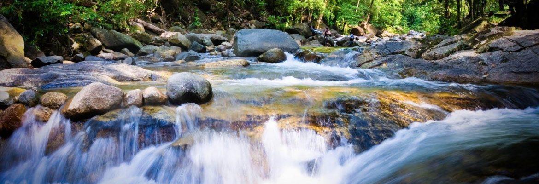 Air Terjun Sekayu Waterfalls, Malaysia