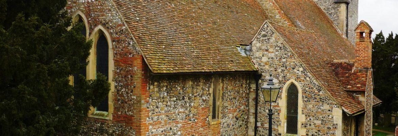 St Martin's Church, Canterbury, England