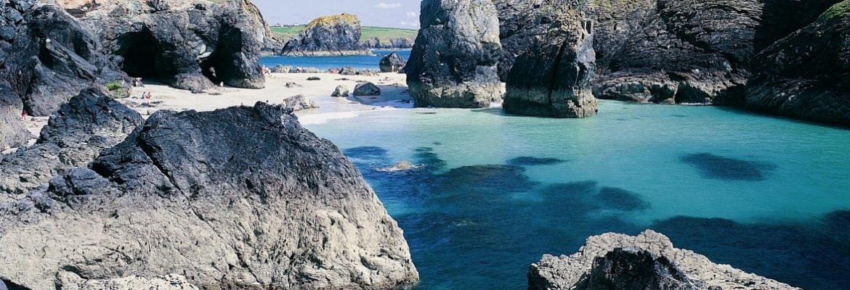 Kynance Cove Beach, Cornwall, England