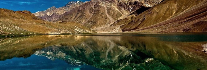 Chandra Taal Lake,Himachal Pradesh, India