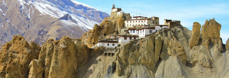 Dhankar Monastery,Himachal Pradesh, India