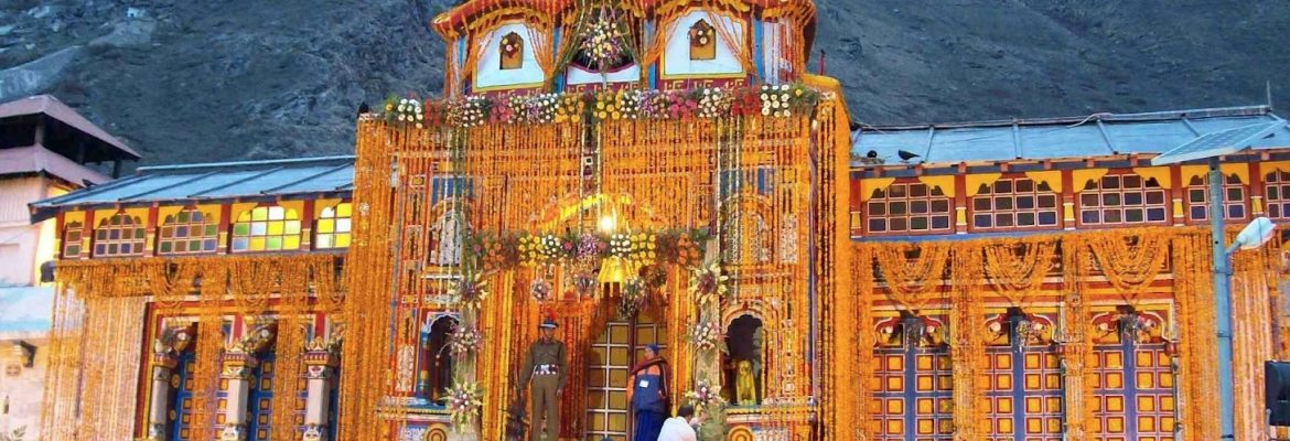 Badrinath Temple, Uttarakhand, India