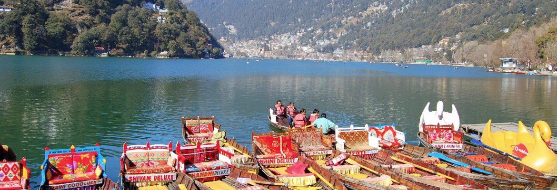 Nainital Lake,Uttarakhand, India