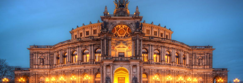 Semperoper Opera House, Dresden, Germany