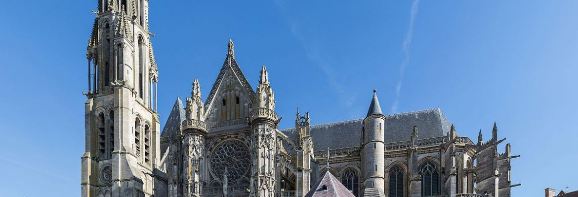 Senlis Cathedral,Senlis, Picardy, France