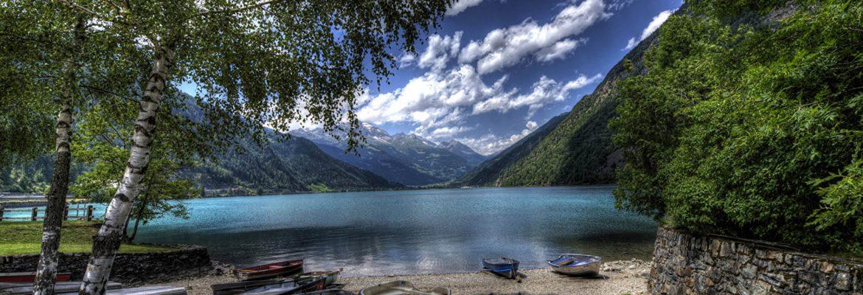Lake Poschiavo,Poschiavo, Switzerland