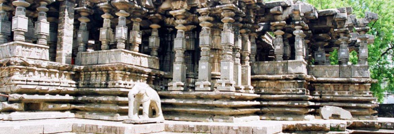 Thousand Pillar Temple,Telangana, India