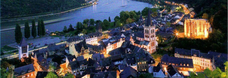 Upper Middle Rhine Valley, Unesco Site,Sankt Goar, Germany