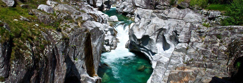 Valley Verzasca, Switzerland