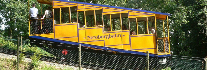 Nerobergbahn View Point,Wiesbaden, Germany