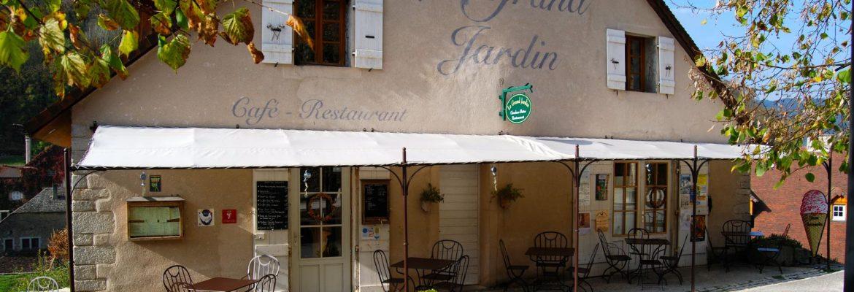 RESTAURANT LE GRAND JARDIN, Baume-les-Messieurs, Franche-Comte, France