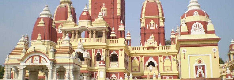 Lakshmi Narayan, Mandir,Daijokyo Buddist Temple, Bihar, India
