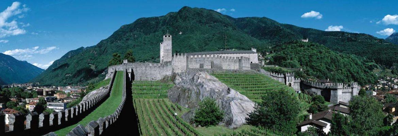 Castelgrande, Unesco Site, Bellinzona, Switzerland