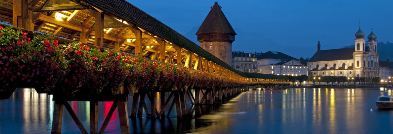 Chapel Bridge, Luzern, Switzerland