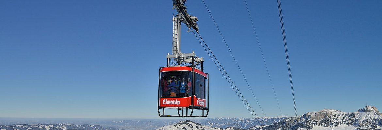 Ebenalp Cable Car,Wasserauen, Switzerland