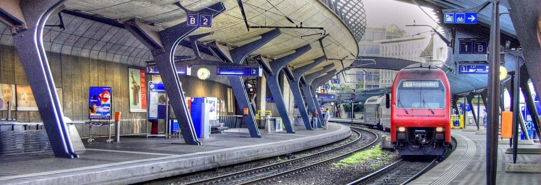 Hauptbahnhof Zurich Main Railway Station, Zurich, Switzerland