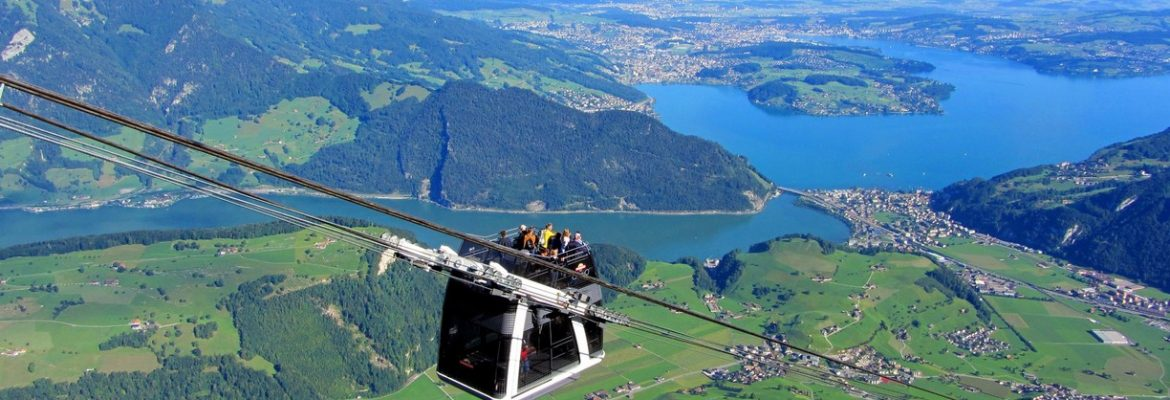 Stanserhorn-Bahn Cable Car and Hiking,Stans, Switzerland