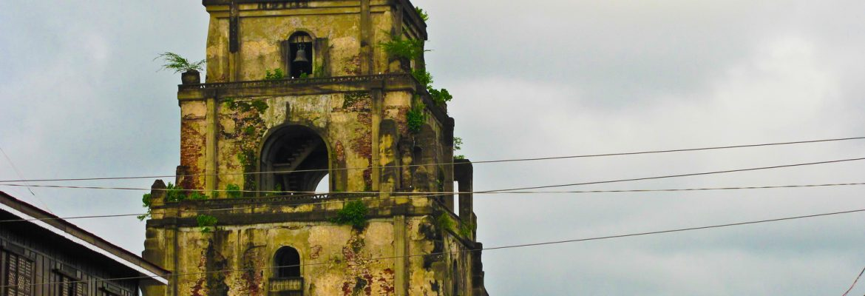 Sinking Bell Tower,Laoag City, Ilocos Norte, Luzon, Philippines