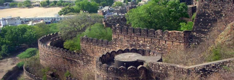 Jhansi Fort, Uttar Pradesh, India