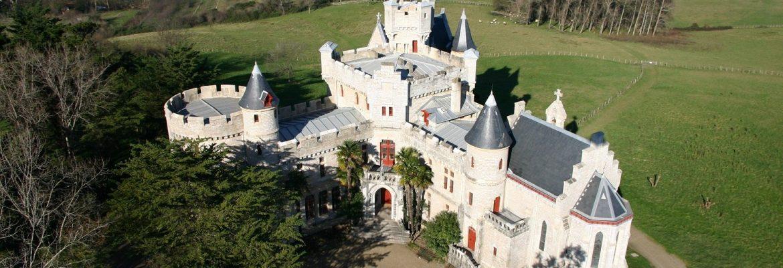 Castle AbbadieChateau d'Abbadie, Hendaye, Aquitaine, France