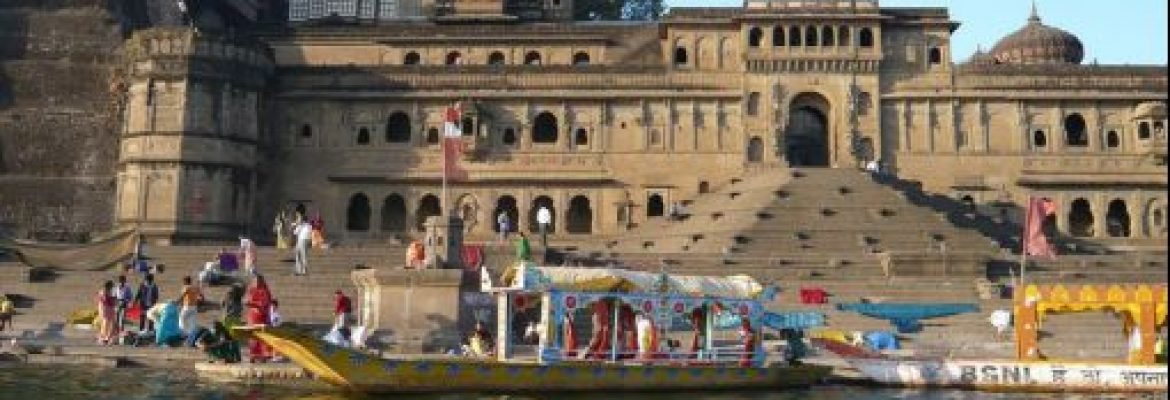 Manikarnika Ghat Sacred Site, The Residency, Uttar Pradesh, India