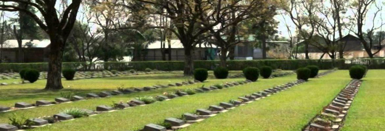 War Cemetery,Manipur, India