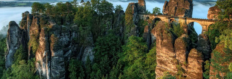Bastei Rock Formations,Lohmen, Germany