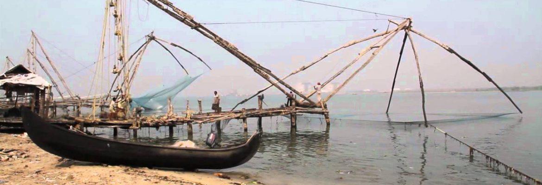 Chinese Fishing Nets,Kerala, India