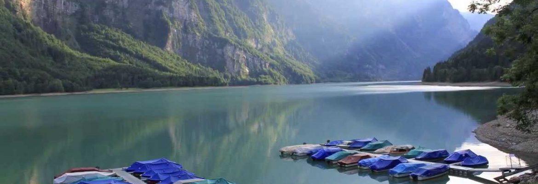 Klöntalersee Lake,Glarus, Switzerland