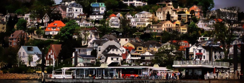 Blankenese Neighbourhood,Hamburg, Germany