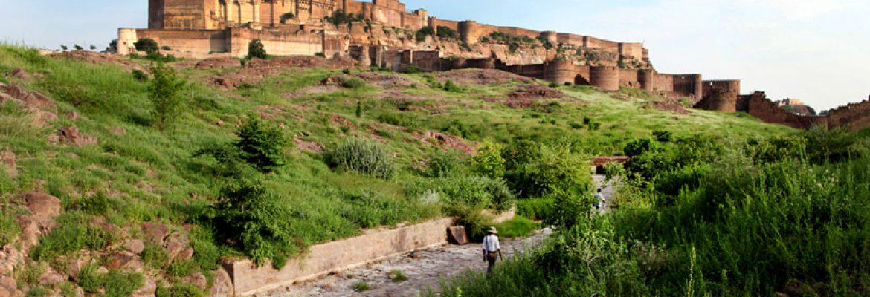 Rao Jodha Desert Rock Park,Rajasthan, India