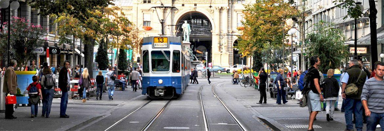 Bahnhofstrasse, Zürich, Switzerland