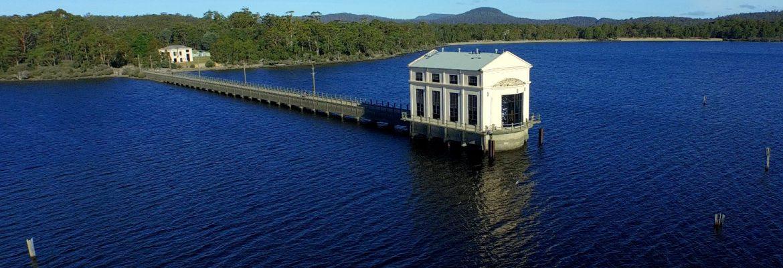Pumphouse Point, Lake St Clair, Tasmania, Australia