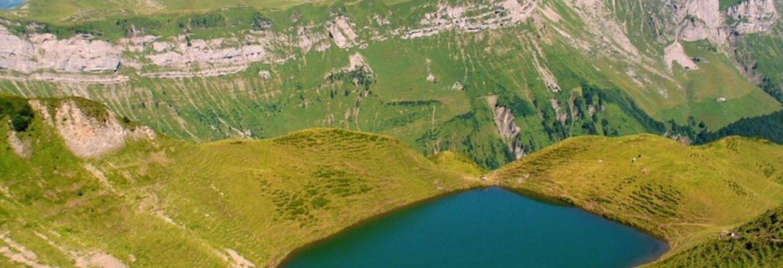 Seefeldsee Lake & Hike,Sachseln, Switzerland