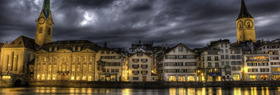 Limmat River and Valley, Switzerland