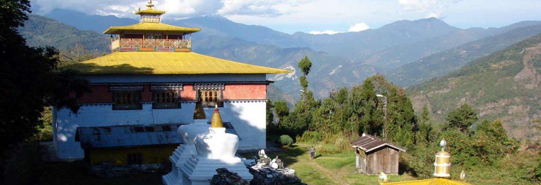 Tashiding Main Gompa,Sikkim, India