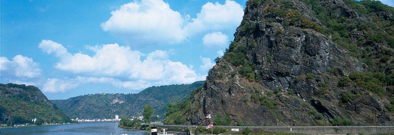 Lorelei Rock, Unesco Site, Sankt Goarshausen, Germany