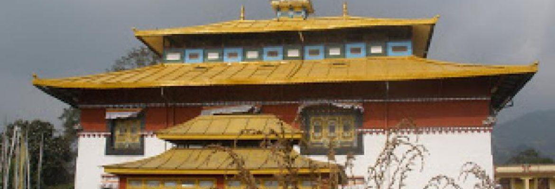 Tsuglhakhang Temple, Gangtok,Sikkim, India