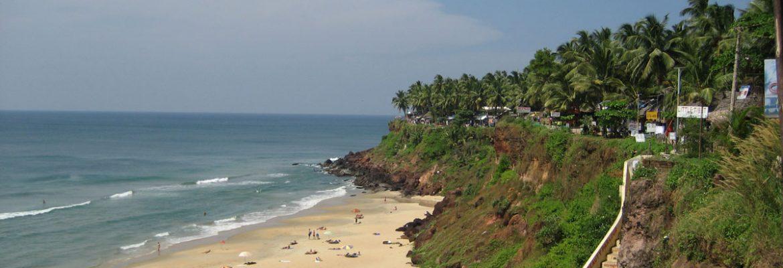 Varkala, Kerala, India