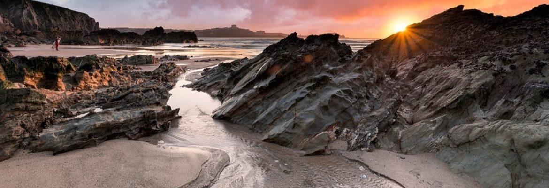 Newquay Lusty Glaze Beach