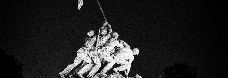 US Marine Corps War Memorial, Arlington, Virginia, USA